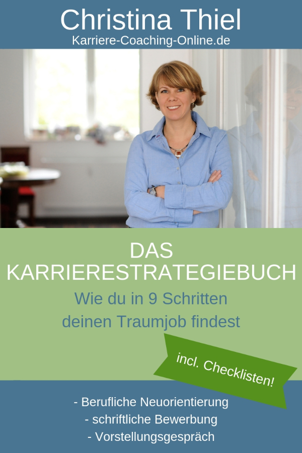 Karrierestrategiebuch Christina Thiel